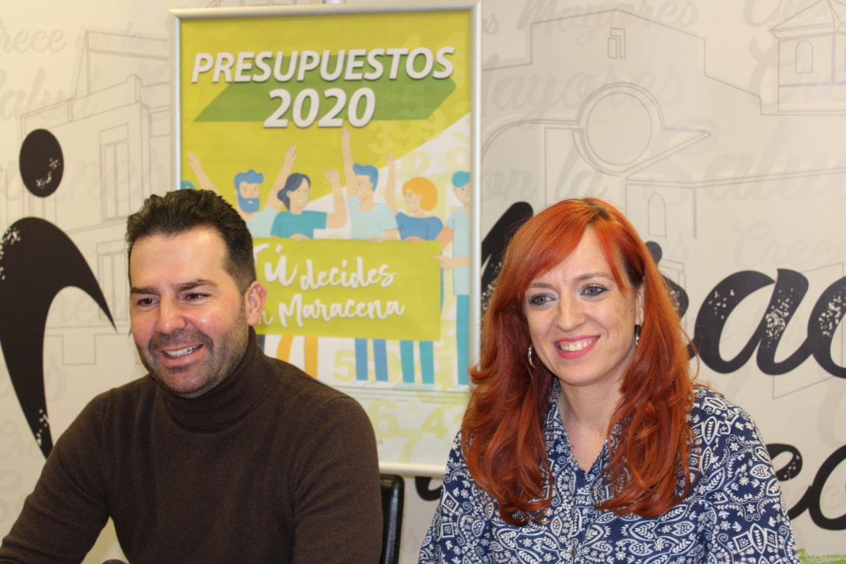 MARACENA PONE EL PRESUPUESTO 2020 EN MANOS DE LA CIUDADANÍA PARA QUE APORTE IDEAS Y NECESIDADES