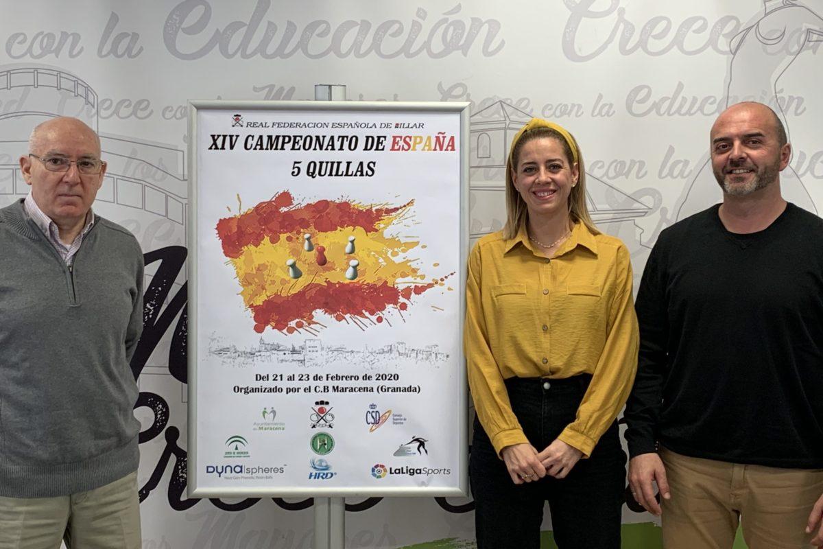 MARACENA ACOGE ESTE FIN DE SEMANA EL CAMPEONATO DE ESPAÑA DE BILLAR A CINCO QUILLAS