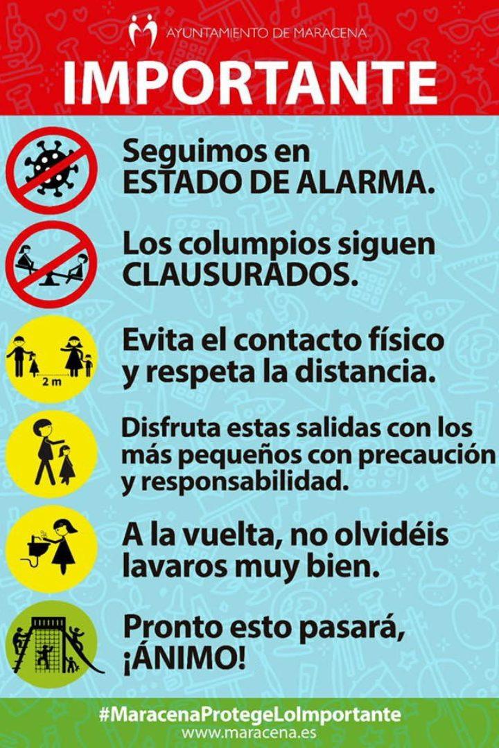 Precauciones a tomar en la salida a la calle con menores