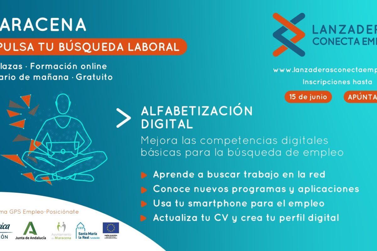 """Maracena contará en junio con """"Alfabetización Digital"""", nuevo programa online de orientación laboral"""