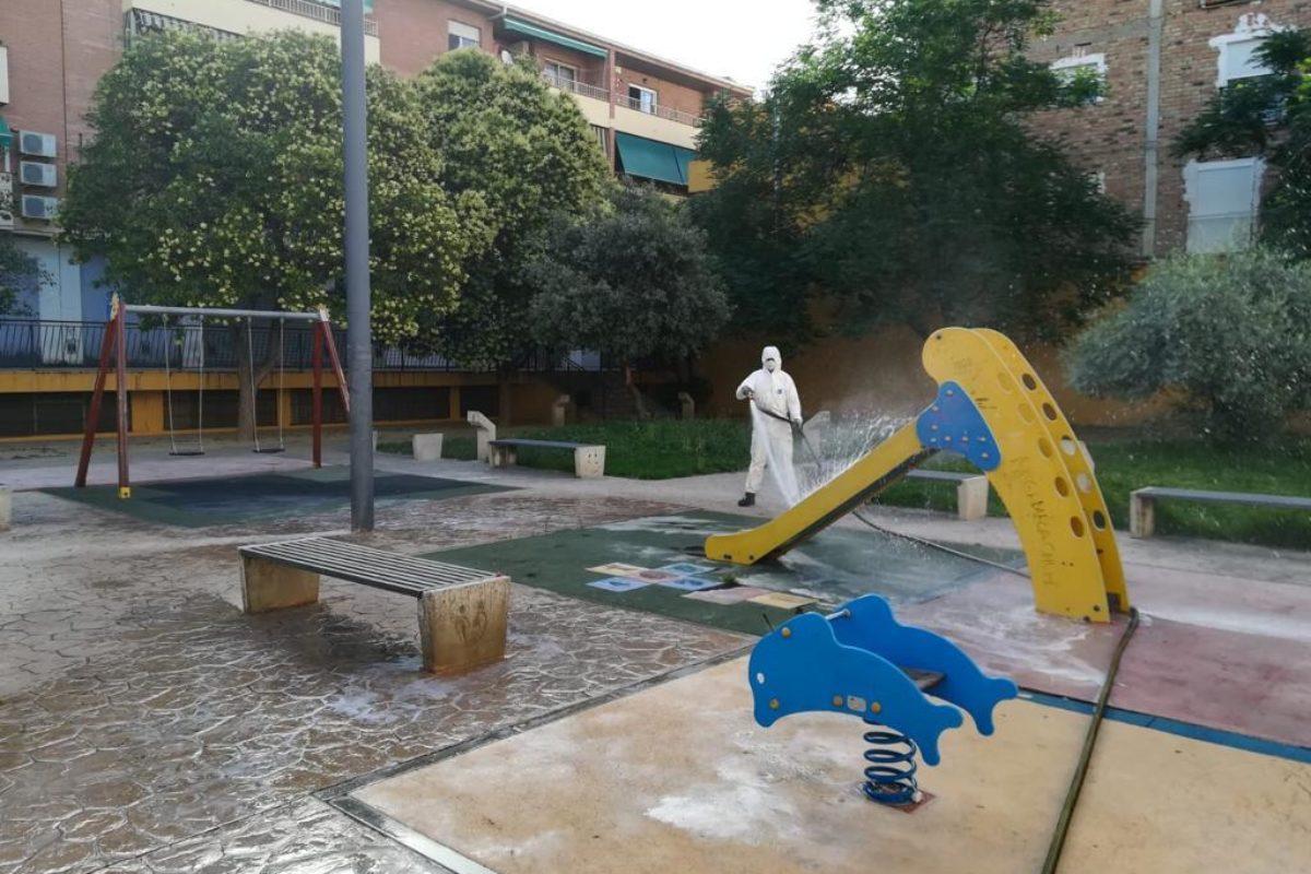 Los más de 20 parques infantiles de Maracena recuperan su actividad con todas las medidas de seguridad