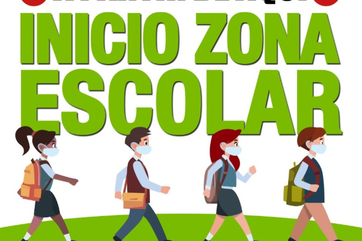 "ITINERARIOS ""ZONA DE SEGURIDAD ESCOLAR"""