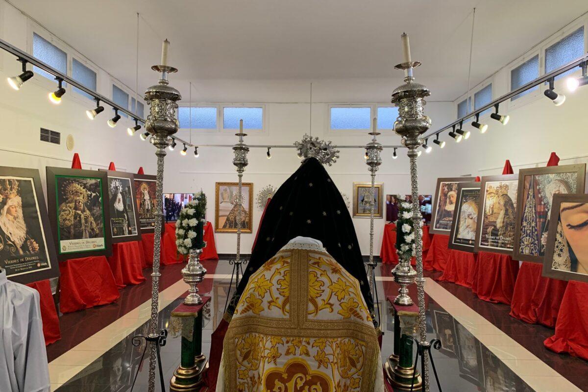 MARACENA ACOGE EN SU CASA DE LA CULTURA UNA EXPOSICIÓN SOBRE SU PATRONA Y LA HISTORIA DE LA HERMANDAD