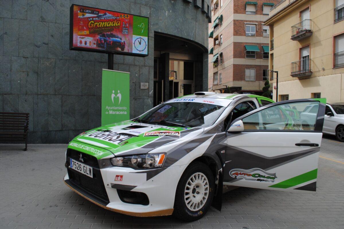 Maracena será el centro logístico del VII Rally Ciudad de Granada y acogerá su tramo de espectáculo