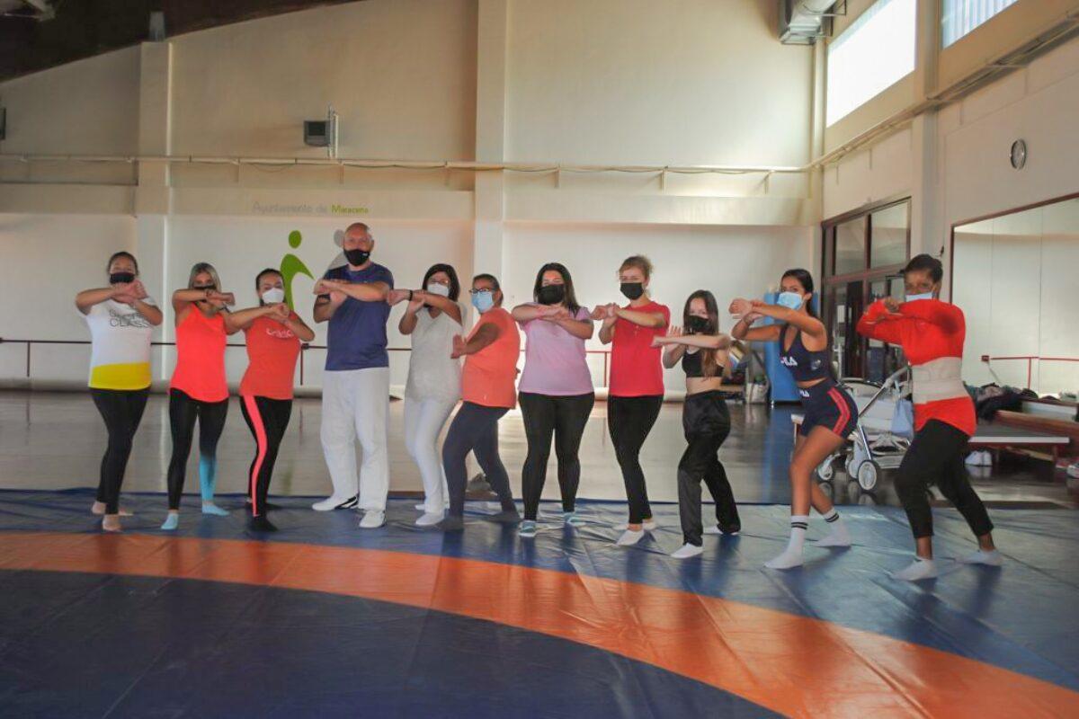 Comienza el taller de defensa personal para mujeres maraceneras